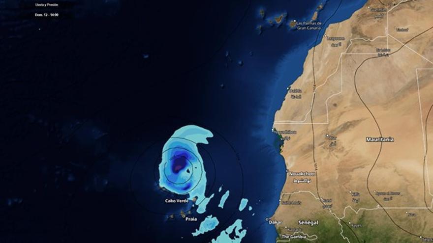 Meteorólogos vigilan la formación de un ciclón tropical al sur de Canarias
