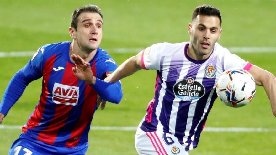 Eibar y Valladolid firman un empate que no sirve a ninguno
