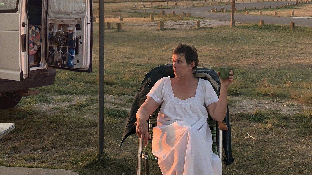 'Nomadland', gran triunfadora de los Bafta, los premios del cine británico