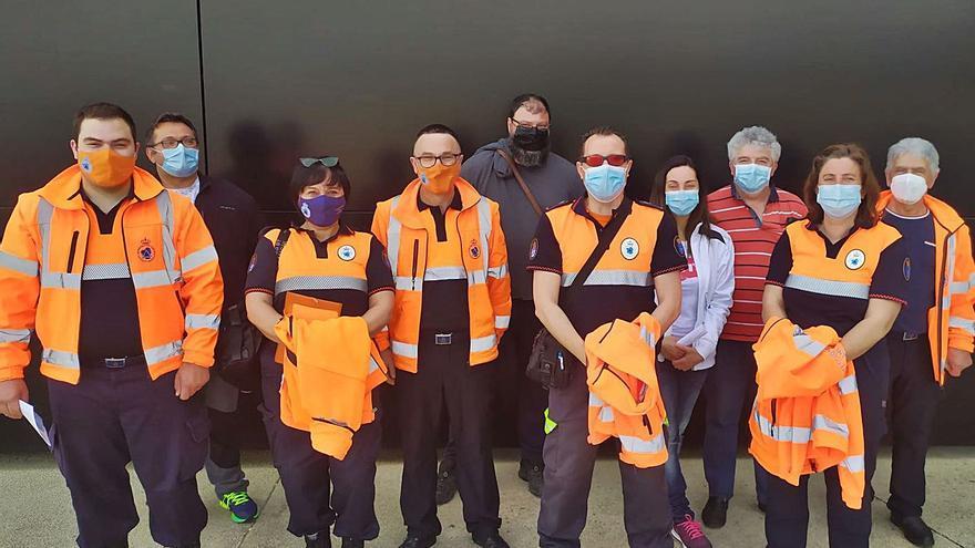 La Policía de Cangas y Moaña se vacuna, con temor en los Concellos por el riesgo de bajas en plena Semana Santa