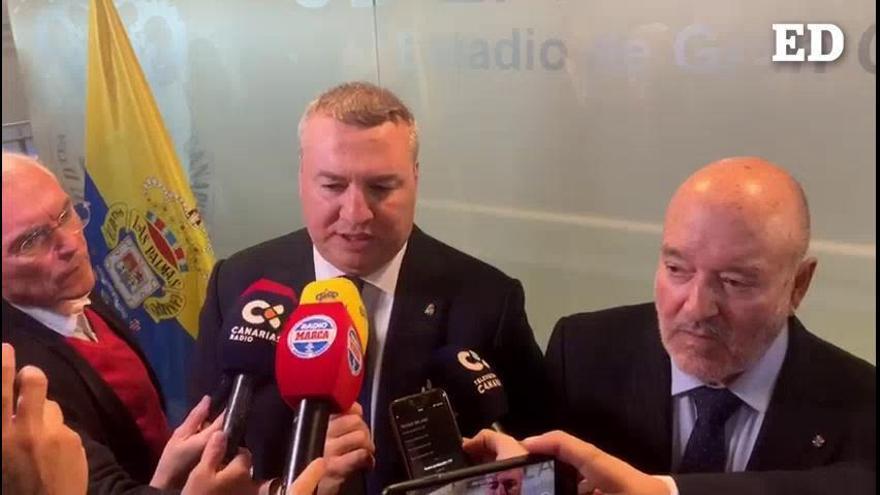Declaraciones previas a la UD Las Palmas - CD Tenerife