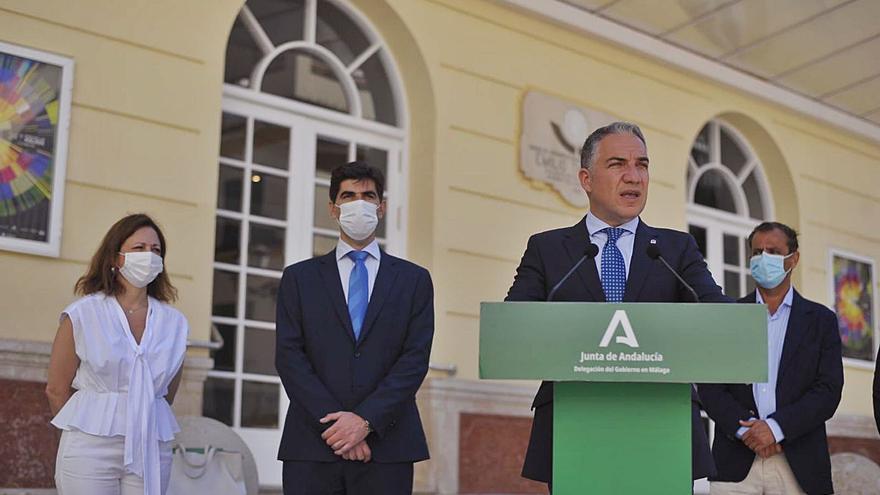 Bendodo asegura que Andalucía «aspira a convertirse en el plató de Europa»