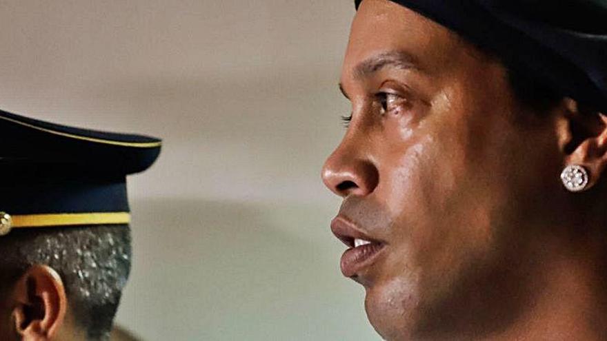 Ronaldinho podría quedar en libertad el 24 de agosto