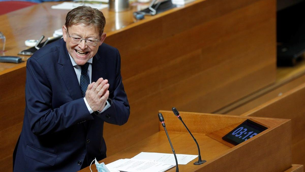 Puig anuncia desgravaciones a las donaciones para el covid y a los afectados por ERTE