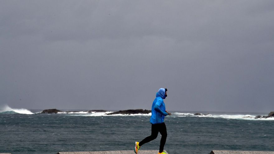 Galicia registra este jueves un descenso de las temperaturas