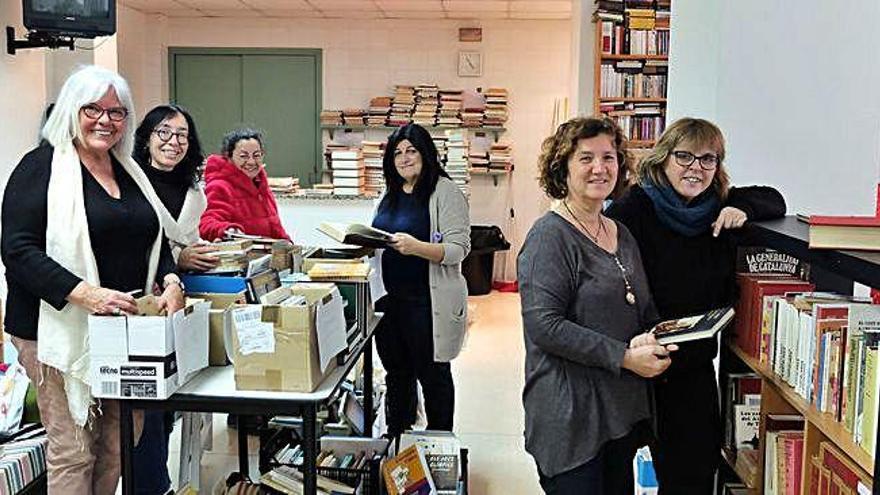 Els llibres de segona mà donen vida a projectes culturals i socials a Figueres