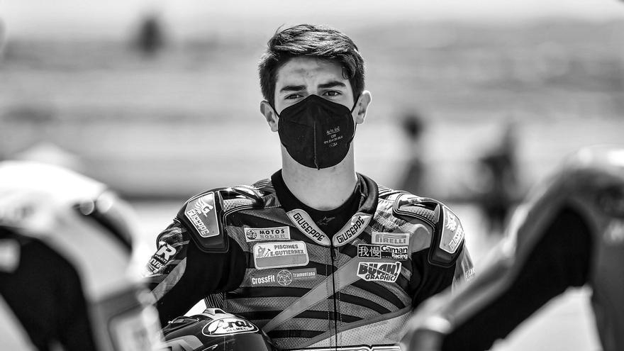 Mor Dean Berta Viñales, cosí de Maverick Viñales, al circuit de Jerez