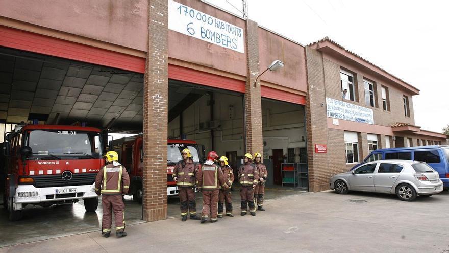 Malestar entre els bombers dels parcs gironins que es reconverteixen i crítiques a la Jonquera i Sant Feliu de Buixalleu