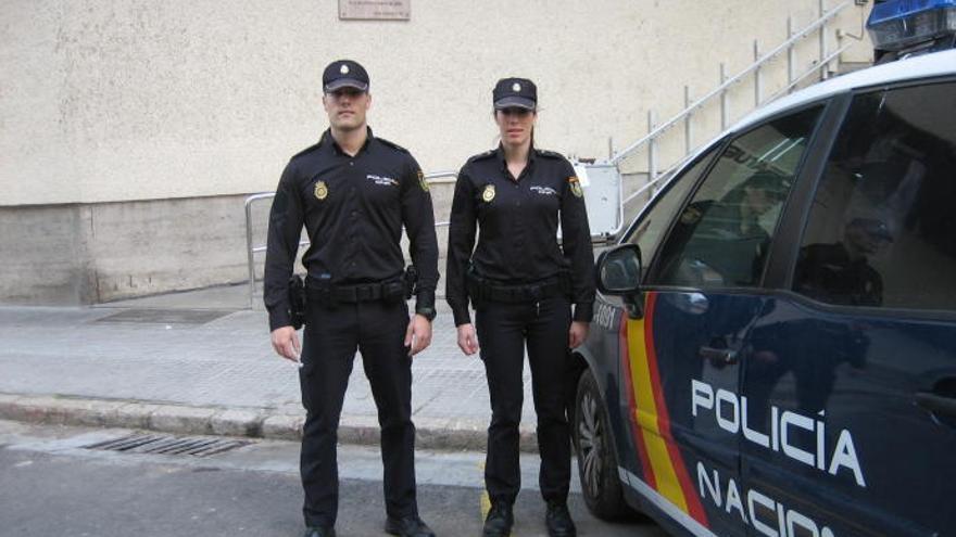 Polizisten retten Pkw-Fahrer in Palma de Mallorca das Leben
