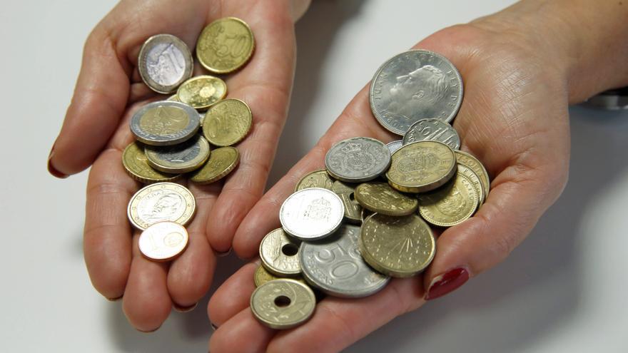 Los españoles dejaron sin canjear 1.575 millones de euros en pesetas