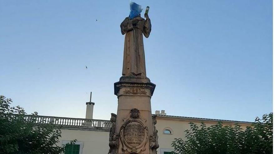 """Wieder ein """"Anschlag"""" auf Mallorcas Heiligen"""