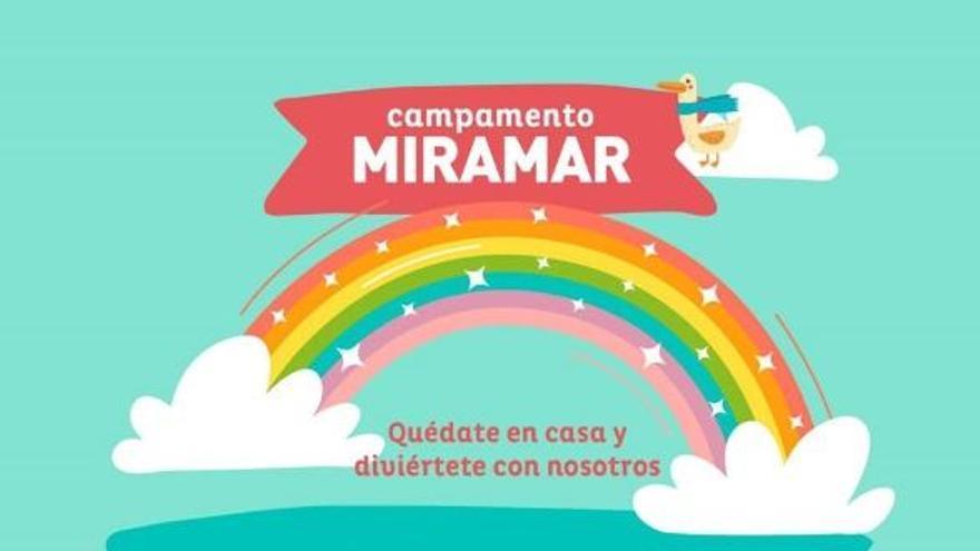 El Centro Comercial Miramar ofrece su ludoteca virtual 'Campamento Miramar'