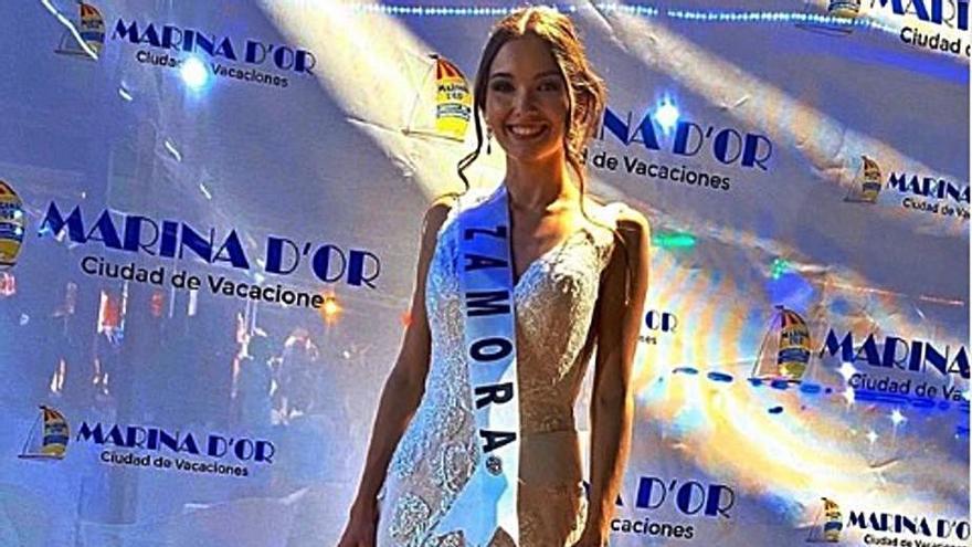 """Miss Mundo Zamora finaliza  el concurso en el """"Top 20"""""""