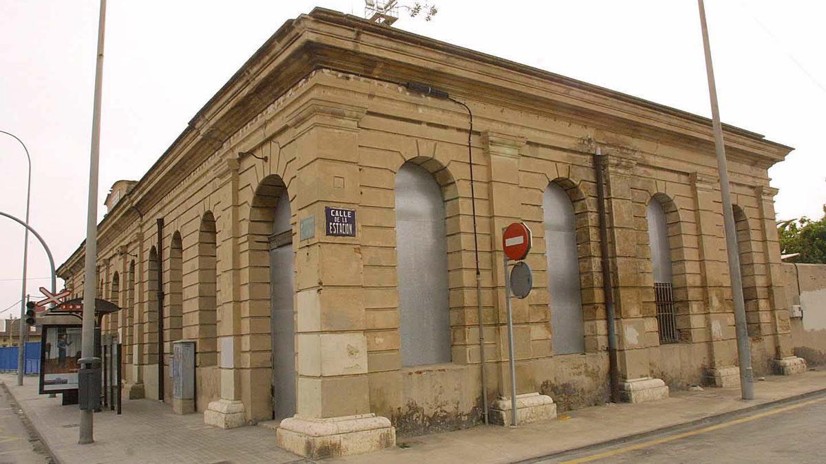 La estación del Grao, en la actualidad.