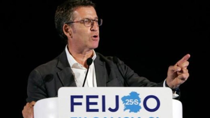 """Feijóo ve """"más optimismo y confianza"""" que en otras campañas electorales"""