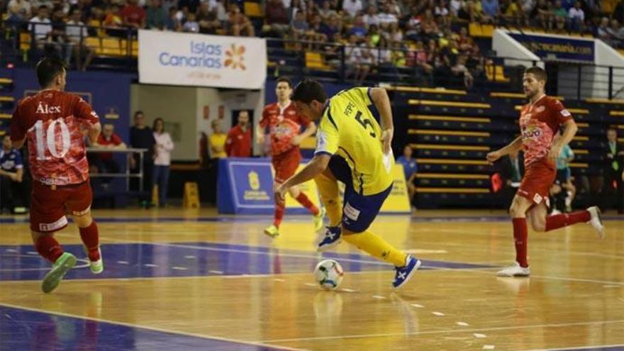 El Gran Canaria FS no puede con ElPozo Murcia