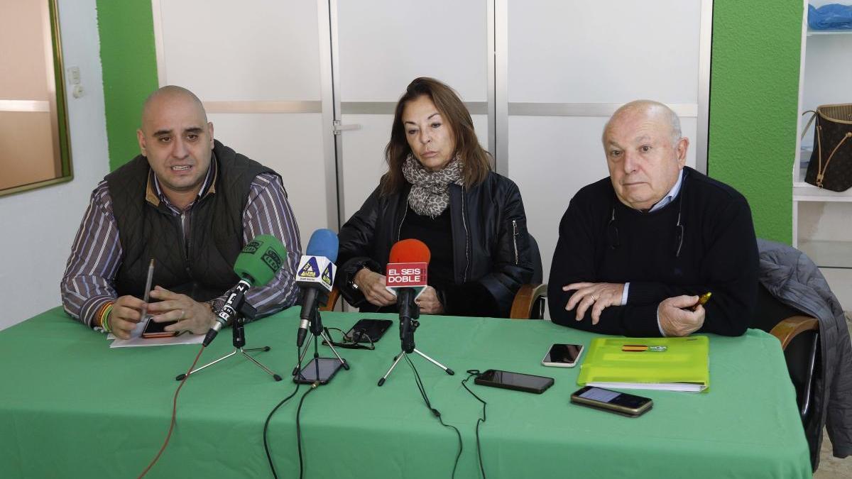 Ángel Aparisi, Sara Blanco y Ricardo Belda