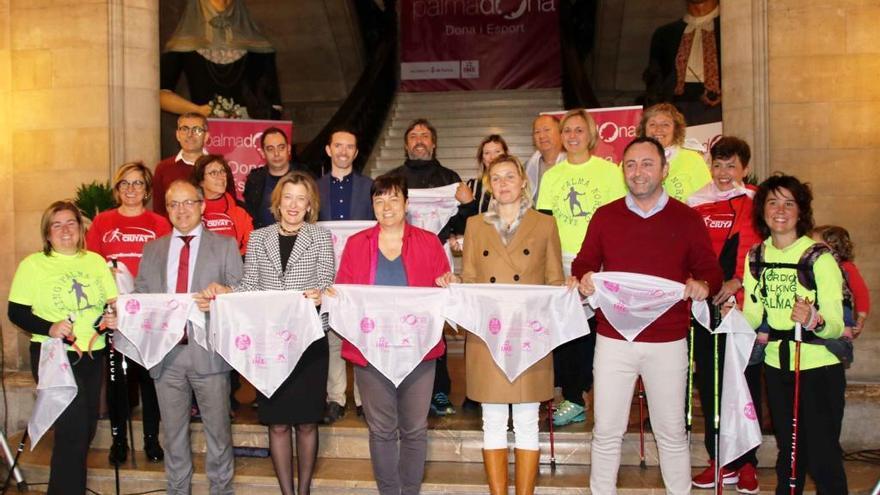 Palma será escenario el domingo de la IV edición de la Marxa per la Igualtat-Nordic Walking