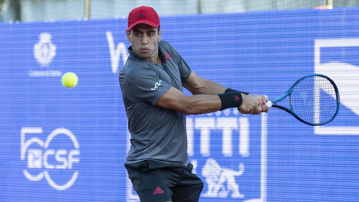 Jaume Munar, en el torneo de Emilio-Romagna Open de Parma