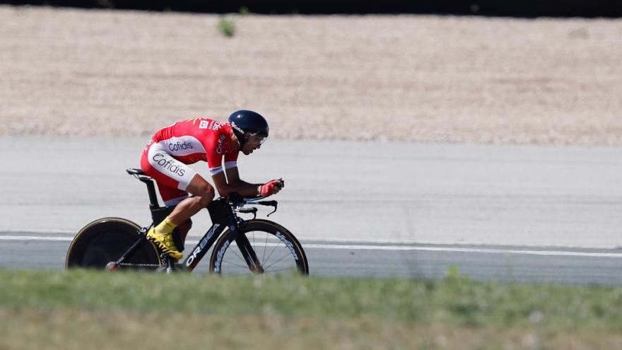 La decimosexta etapa de la Vuelta, en imágenes