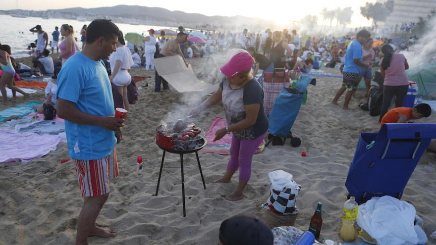 Palmas Strände werden zur Johannisnacht-Feier gesperrt