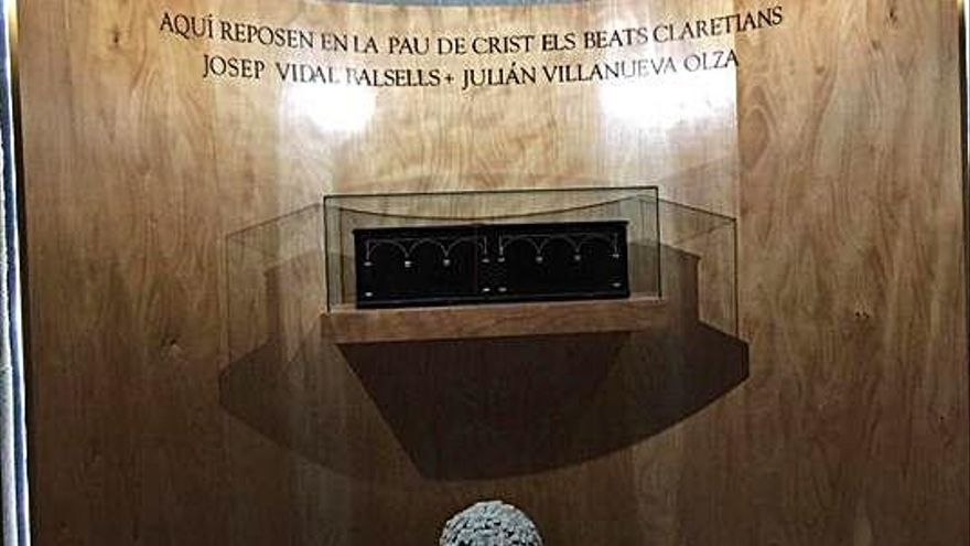 Els màrtirs claretians ja tenen capella a Solsona