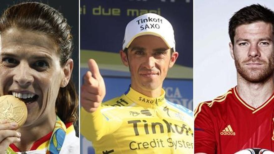 Ruth Beitia, Alberto Contador y Xabi Alonso, entre los que dejaron el deporte en 2017