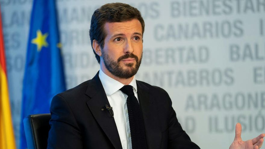 Casado y Garamendi piden a Sánchez liquidez para que las empresas no cierren