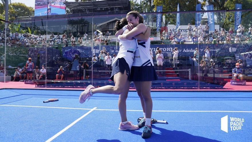 Paula Josemaría y Ari Sánchez, campeonas en Marbella
