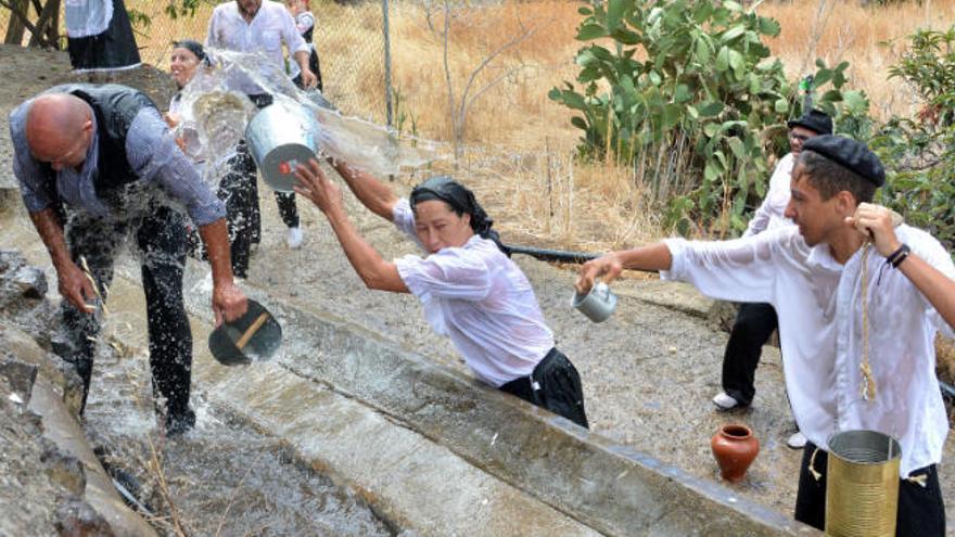 Ensayo de mojadura en Lomo Magullo