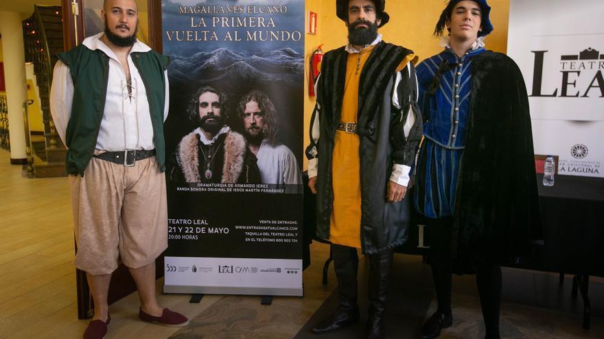 Magallanes y Elcano 'atracan' a finales de mes en el Teatro Leal gracias a Timaginas
