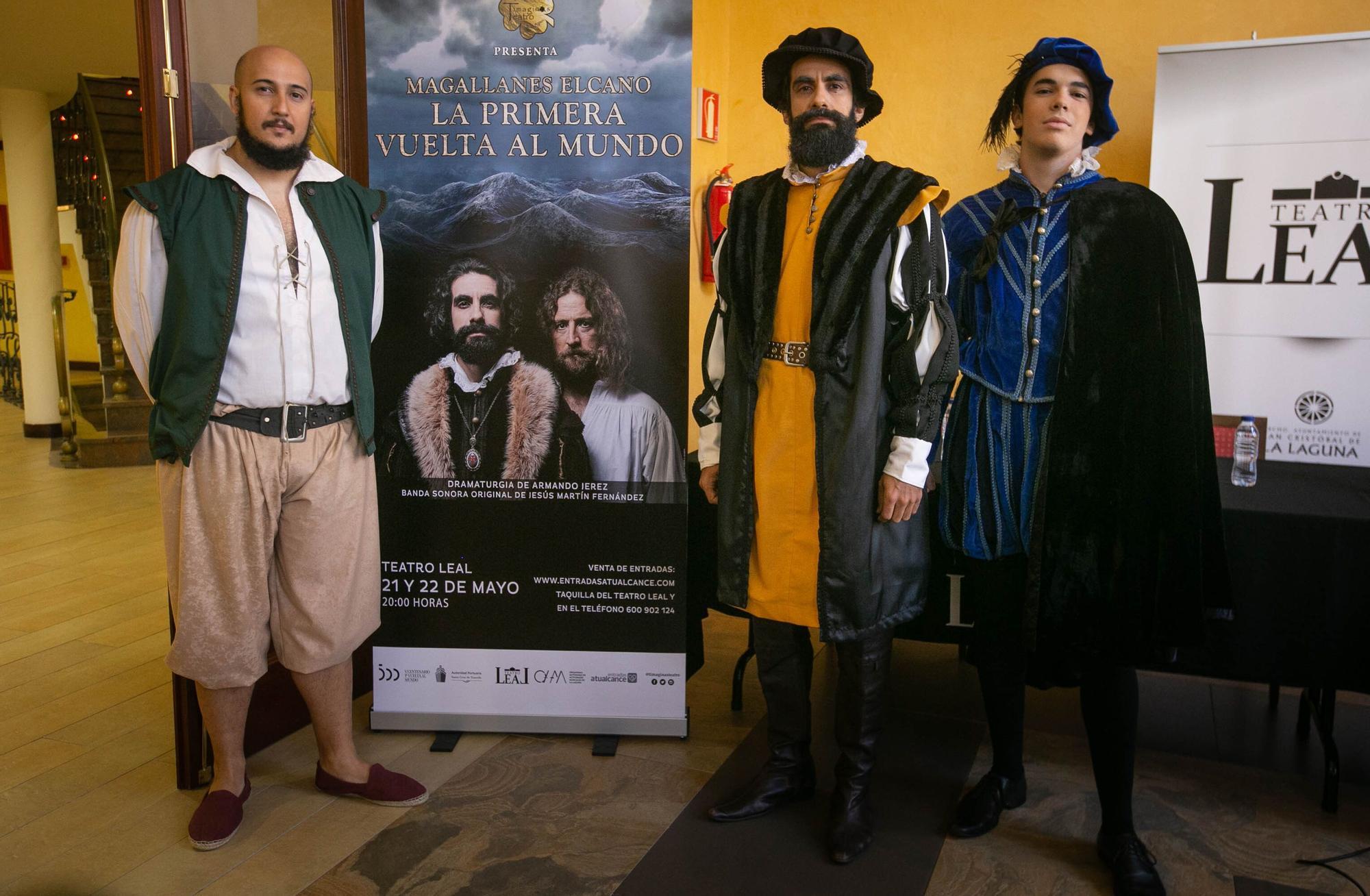 Presentación de 'Magallanes Elcano. La primera vuelta al mundo'