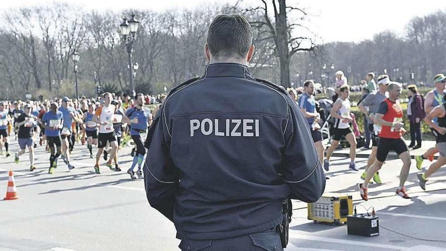 Detenidos en Berlín seis sospechosos de preparar un ataque en una maratón