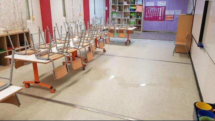 Centres educatius públics tancats i rutes de transport suspeses per la llevantada