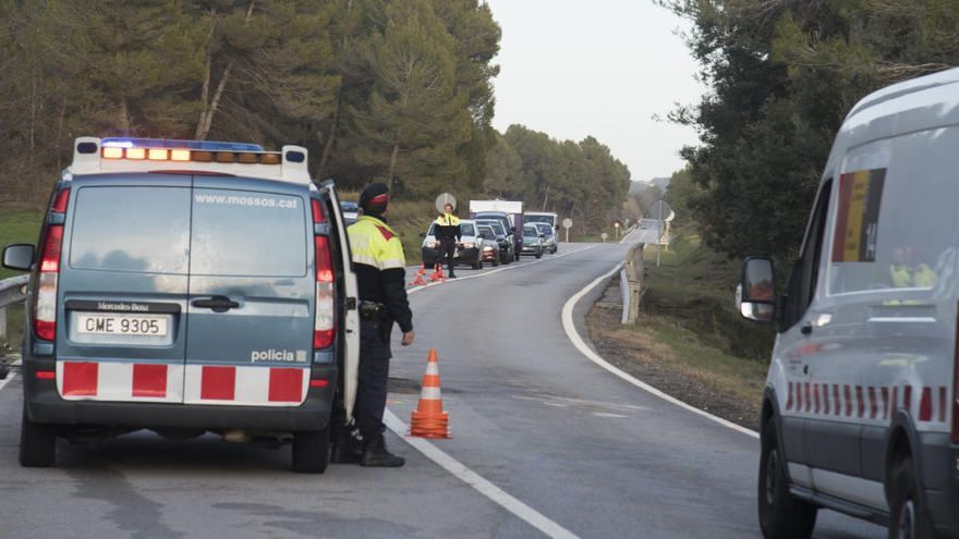 La Cerdanya té dos dels trams amb més risc d'accident de Catalunya