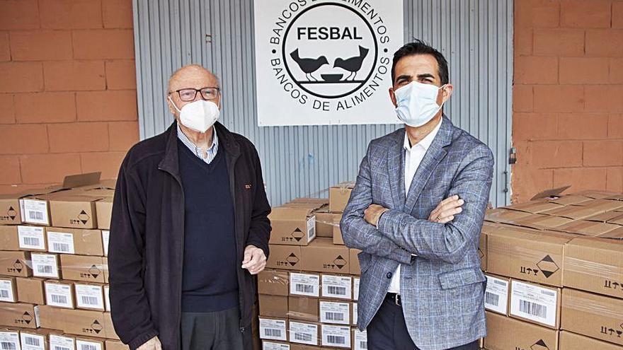 Mercadona dona 61 toneladas de productos a distintas entidades