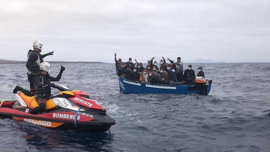 Arriban 167 migrantes a las costas de Canarias en las últimas horas