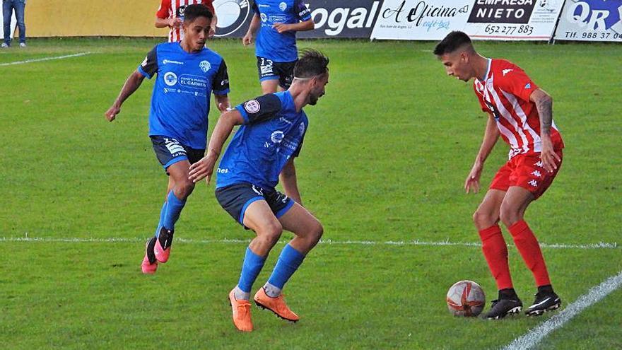 El Ourense CF no despega