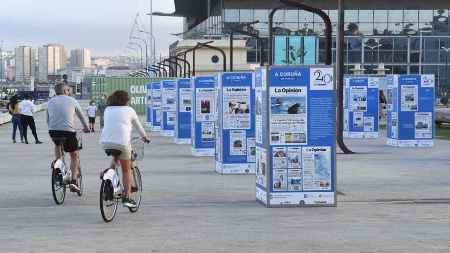 Exposición 20 Aniversario La Opinión A Coruña: La crónica del siglo XXI coruñés