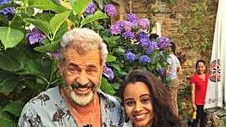 Mel Gibson, de ruta por Galicia