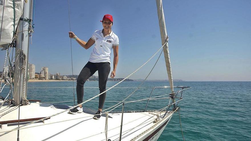 Cristina Pujol: de navegar amb l'avi a Platja d'Aro a ser olímpica