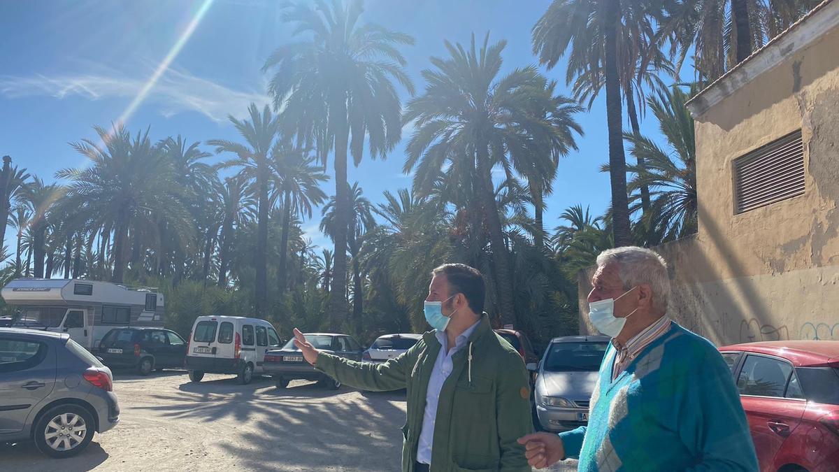 Visita de Pablo Ruz a Portes Encarnades.