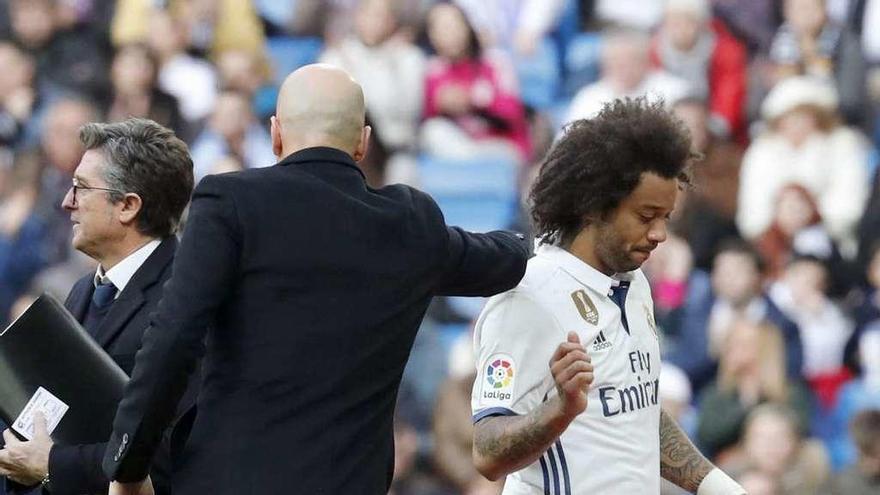 Marcelo y Modric, bajas para Balaídos