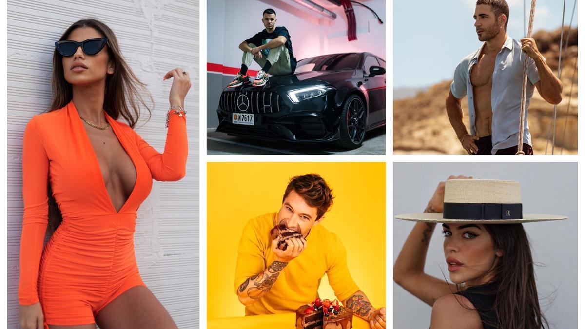 Algunos de los rostros más conocidos en Instagram son de nuestra provincia.