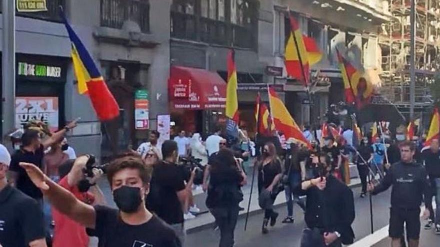 La fiscalia investiga la marxa neonazi contra el col·lectiu LGTBI pel delicte d'odi