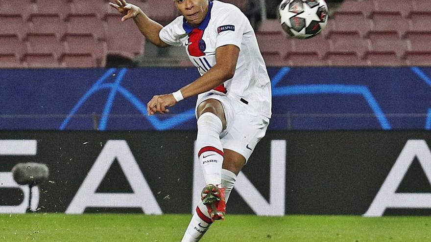 Mbappé hace añicos el espejismo del Barça