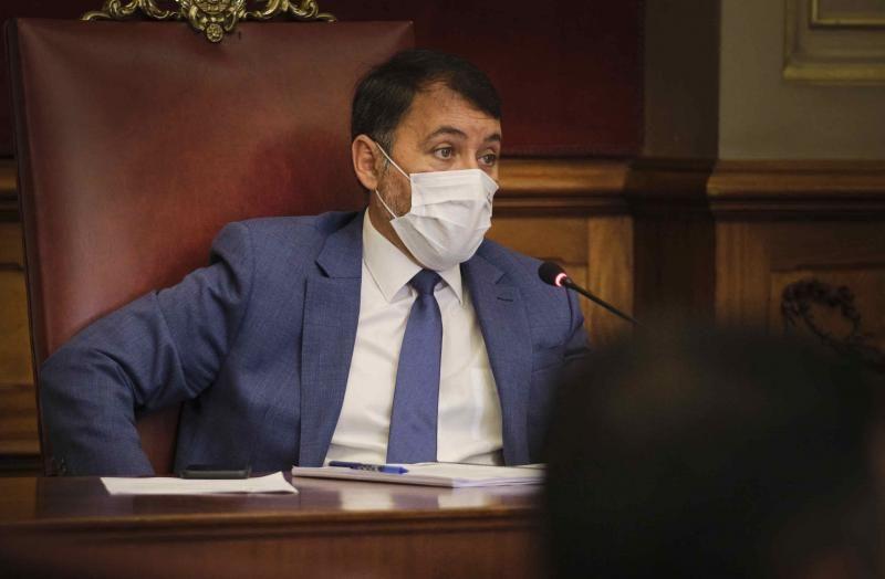 Pleno del Ayuntamiento de Santa Cruz de Tenerife, 24/09/2021