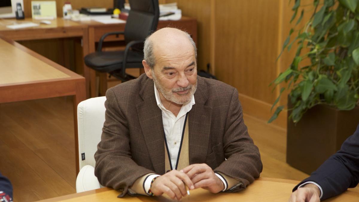 El catedrático José Tuells