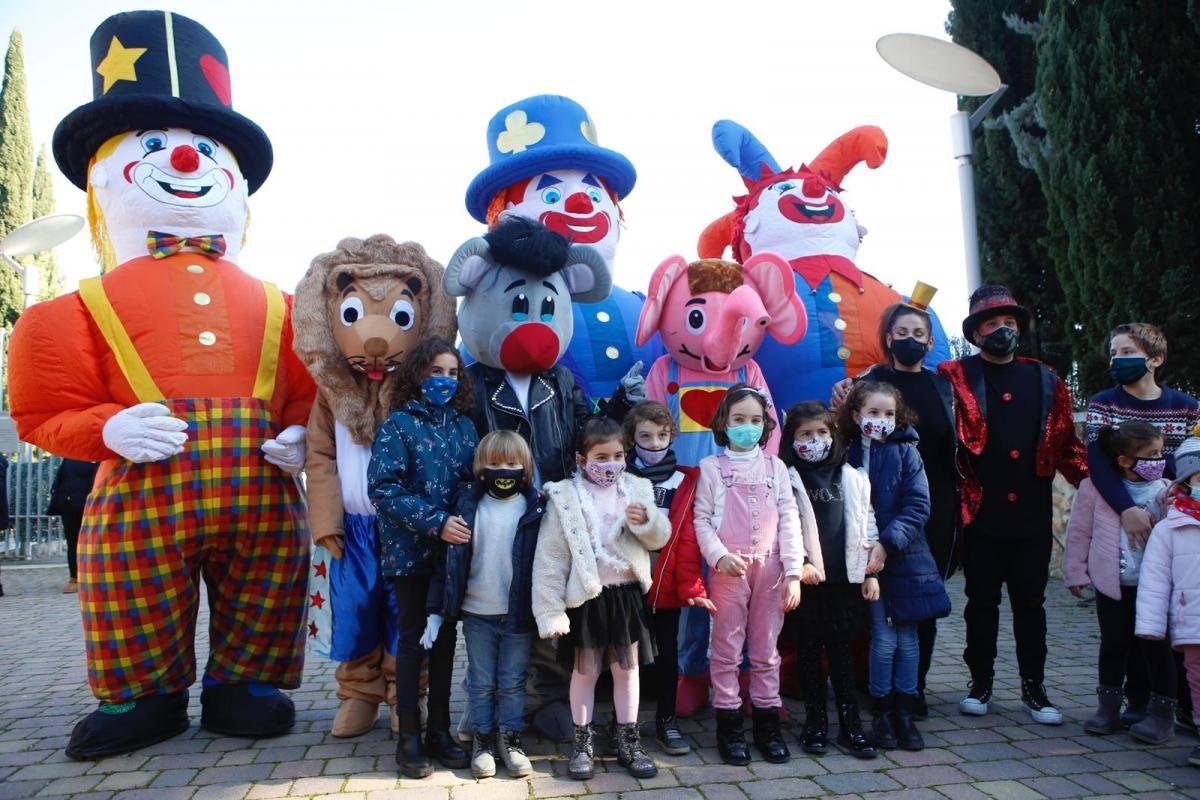 Fiesta infantil en La Axerquía para despedir 2020