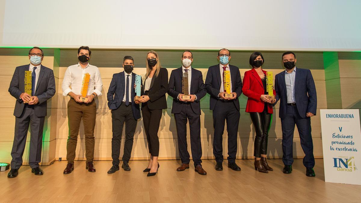 En la gala de la V edición de los Premios  IN4Bankia, celebrada el pasado jueves, se dieron a conocer las empresas ganadoras de cada categoría.